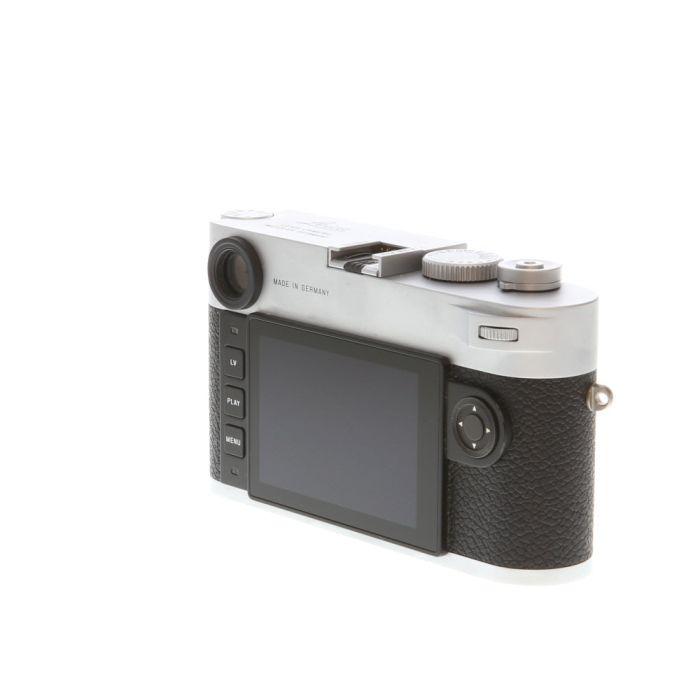 Leica M10-P Digital Camera Body, Silver Chrome {24MP} 20022