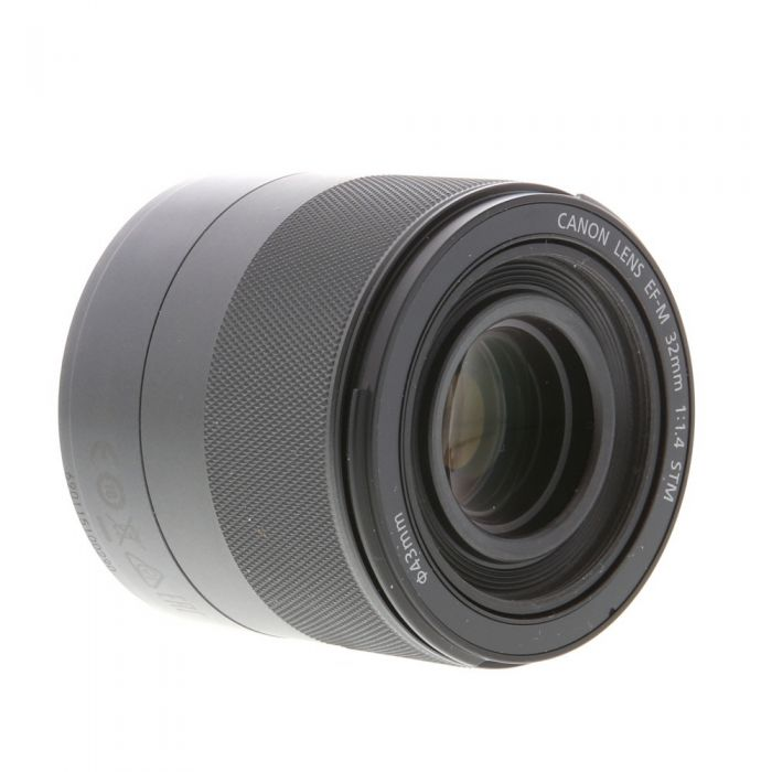 Canon 32mm f/1.4 STM EF-M Mount Lens For Canon Mirrorless Digital, Black {43}