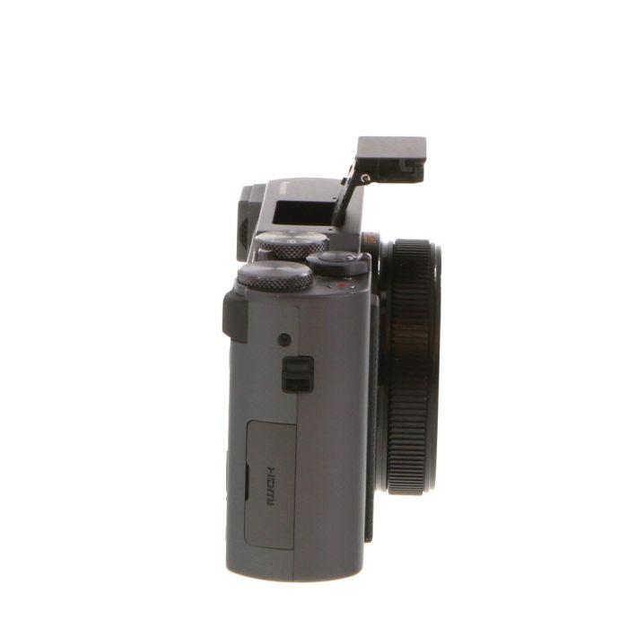Panasonic Lumix DC-ZS200 Silver Digital Camera {20.1 M/P}