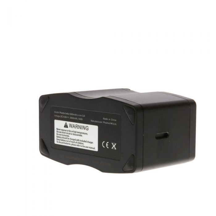 Phottix Indra 5000mAh Li-ion Battery (for use with Indra Battery Pack)