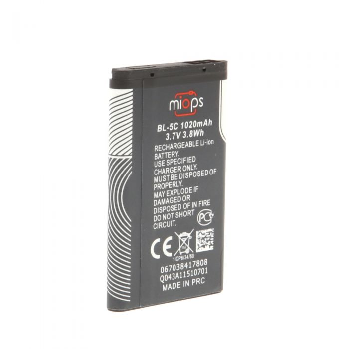MIOPS BL-5C Li-Ion Rechargeable Battery (3.7V, 1020mAh) (for Miops Smart Camera Trigger)