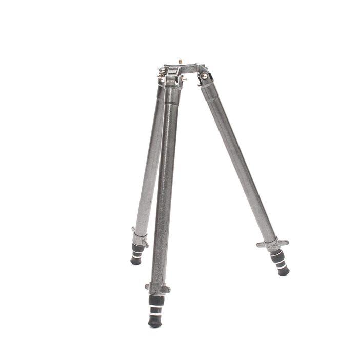 Gitzo G1500 MK2 Tele Studex Performance Aluminum Tripod Legs with Flat Plate, 3-Section, 28.8-61.8