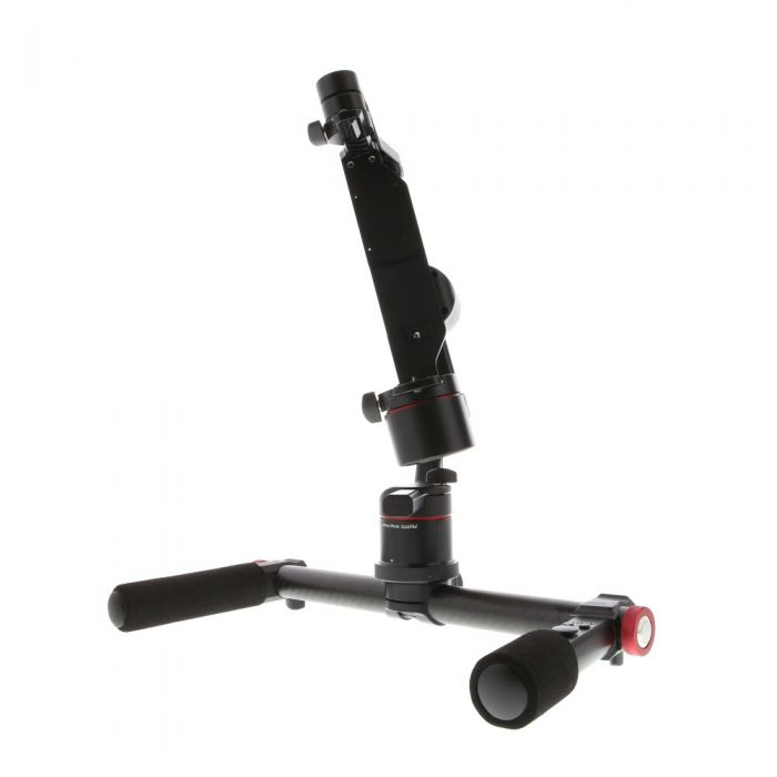 Pilotfly T1 3-Axis Motorized Gimbal Stabilizer, Two-Handed, Tuning Stand, Soft Case