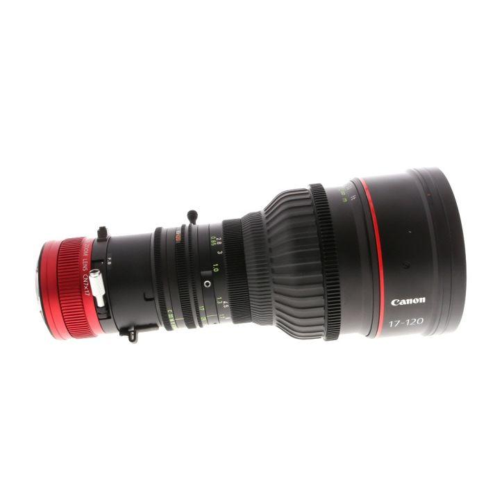 Canon CN7x17 KAS S 17-120mm T2.95 Cine-Servo Zoom EF Mount Lens