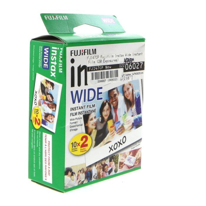 Fujifilm Instax Wide Instant Film (20 Exposures)