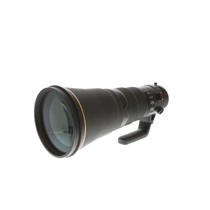Nikon AF-S Nikkor 600mm f/4 E FL ED VR Autofocus Lens {40.5 Drop-In}
