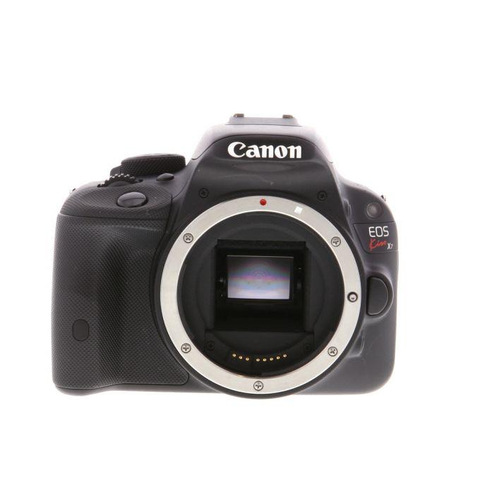 Canon EOS Kiss X7 Black (International Rebel SL1) Digital SLR Camera Body {18 M/P}