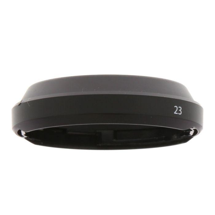 Fujifilm 23mm F/2 Plastic Non Vented Lens Hood, Black