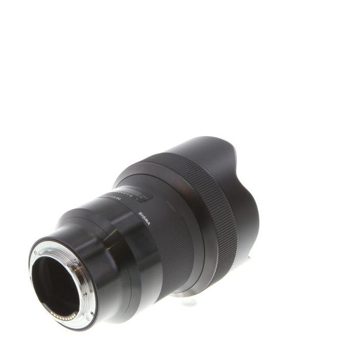 Sigma 14mm f/1.8 DG (HSM) A (Art) AF Lens for Sony E-Mount, Black