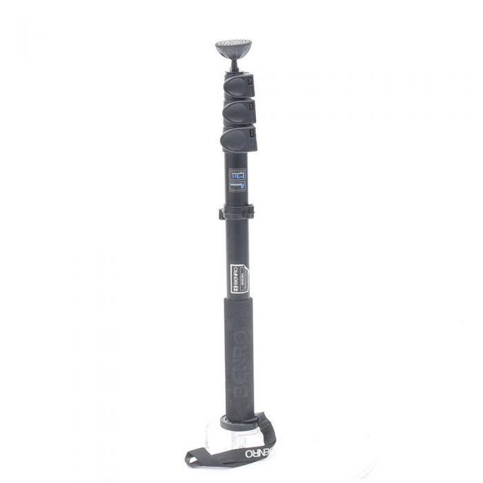 Benro MAD38A Adventure Series 3 Aluminum Monopod, 4-Section, 20.7-62.8\