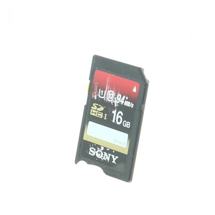 Sony SDHC 16GB UHS 3 Class 10 Memory Card, 95MB/s