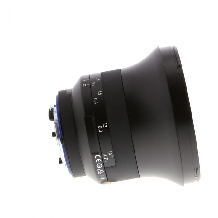 Zeiss Milvus 15mm f/2.8 Distagon ZF.2 T* (With CPU Contacts) Manual Focus Lens for Nikon F-Mount {95} with De-Click Tool