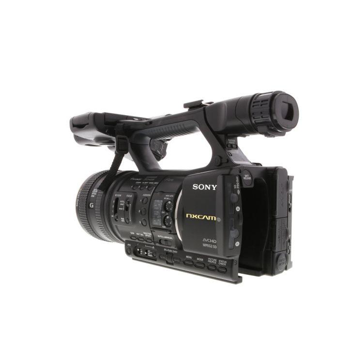 Sony HXR-NX5U NXCAM Camcorder with ECM-XM1 XLR Microphone