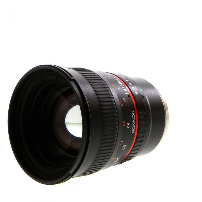 Rokinon 50mm f/1.4 AS UMC Manual Lens for Sony E-Mount {77}