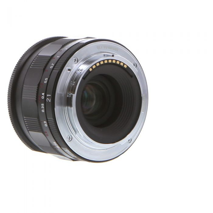 Voigtlander 21mm f/3.5 Color-Skopar Aspherical Manual Lens for Sony E-Mount, Black {52}