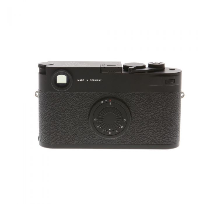 Leica M10-D Digital Camera Body, Black Chrome Finish {24MP}