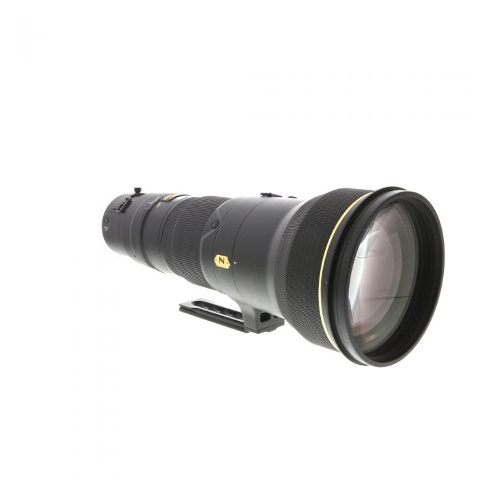 Nikon AF-S Nikkor 600mm f/4 G ED VR Autofocus IF Lens {52 Drop-In} with Generation Designs Tripod Foot