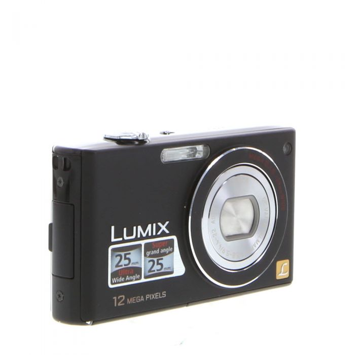 Panasonic Lumix DMC-FX48 Black Digital Camera {12.1MP}