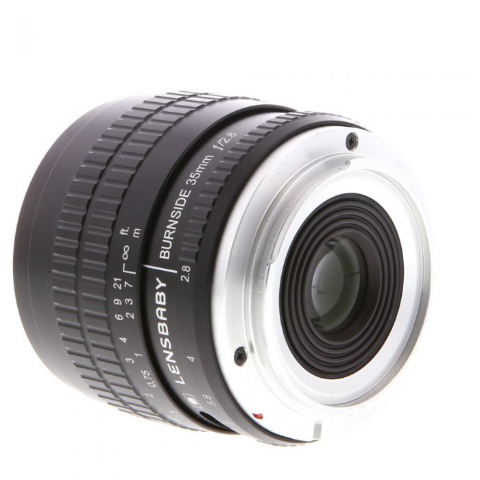 Lensbaby Burnside 35mm f/2.8 Manual Lens for Canon EF-Mount, Black {62}