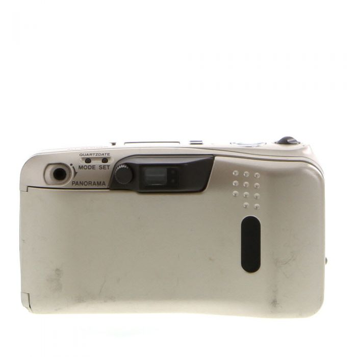 Olympus Stylus Zoom 140 Deluxe Quartz Date Panorama, Champagne Gold, All Weather