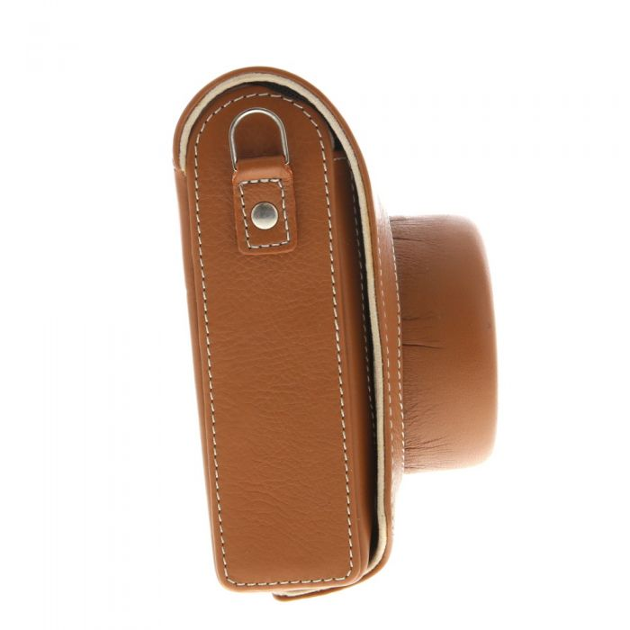 Leica D-Lux Typ 109 Cognac Leather Case With Strap 18821