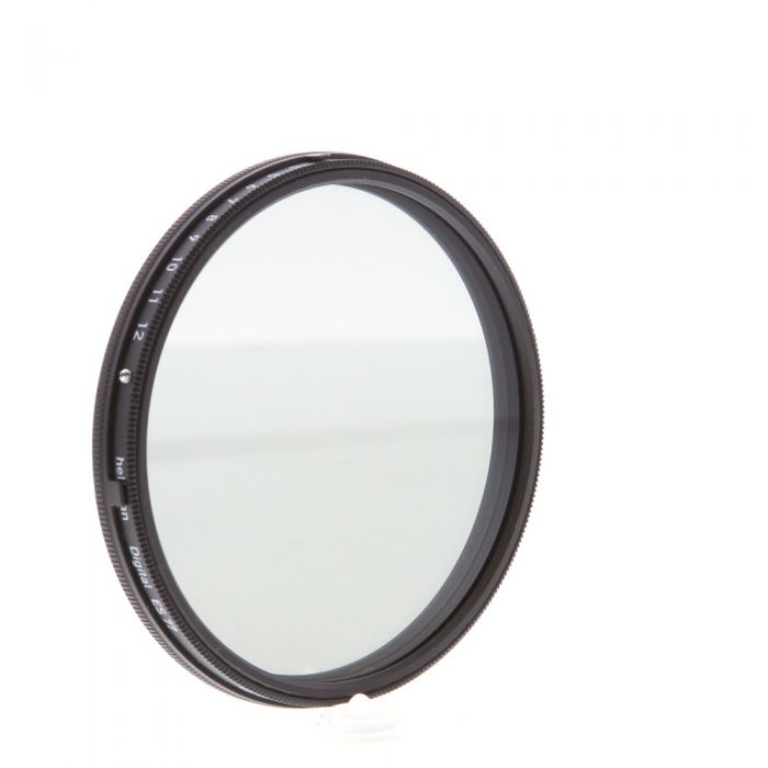 Heliopan 77mm Variable Gray ND (Neutral Density) 0.3-1.8 Filter