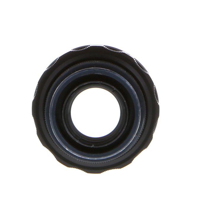Valdai 58mm F/2 Helios 44-2 Pre-Set M42 Screw Mount Manual Focus Lens, Black {49}