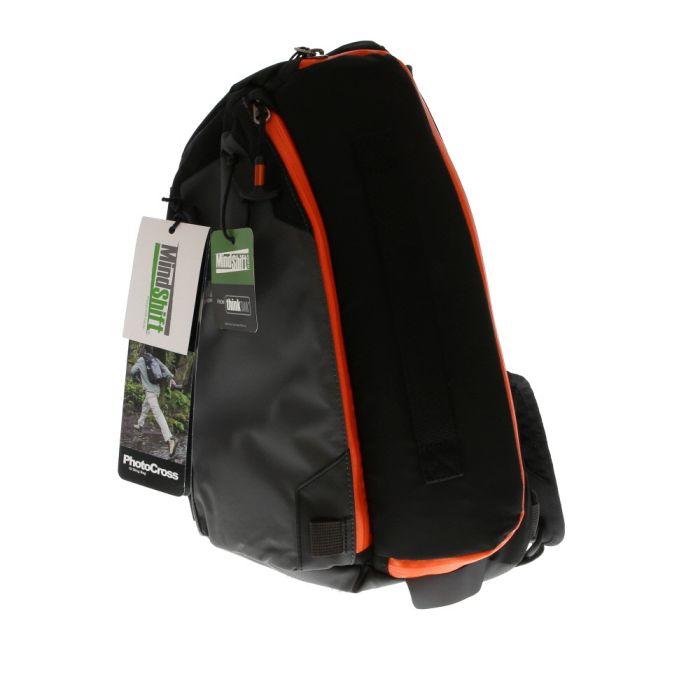 MindShift Gear PhotoCross 10 Sling Bag, Orange Ember, 11x15.9x6.3