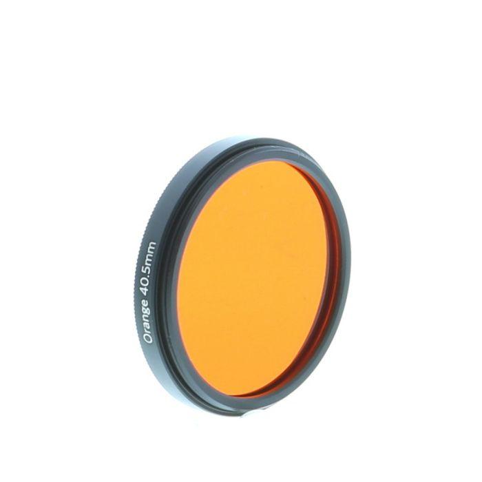 Lomography 40.5mm Orange Filter, Black