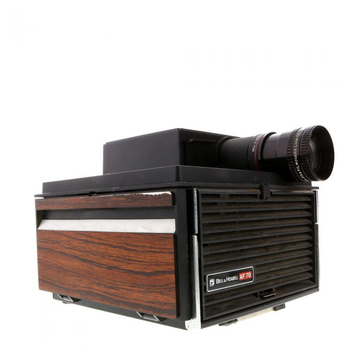 Bell & Howell AF 70 Slide Cube System II Auto Focus Slide Projector with 3.5-4.5\