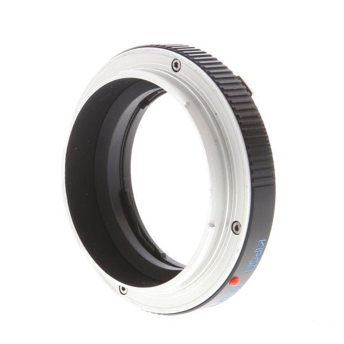 KIPON Auto Focus Adapter for Canon EF/EF-S Lens to Fujifilm GFX Mount