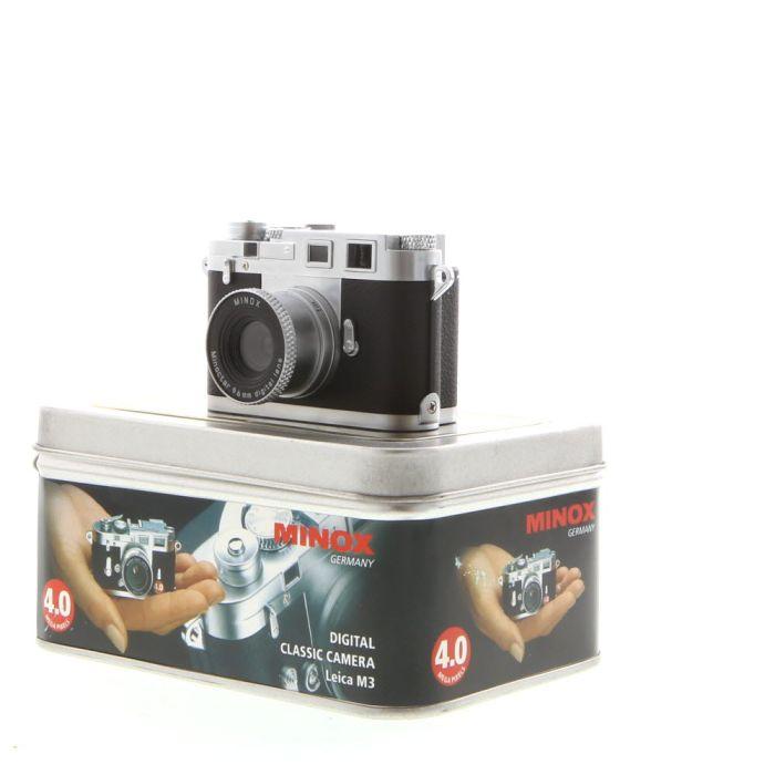 Minox Digital Leica M3 Digital Classic Camera with 9.6mm Lens {4MP}