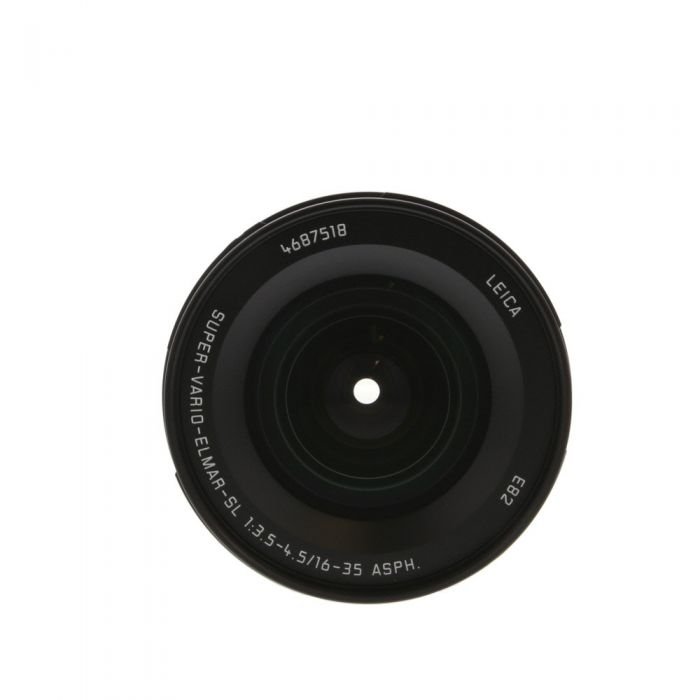 Leica 16-35mm f/3.5-4.5 Super-Vario-Elmar-SL Aspherical Full-Frame Lens for Leica L-Mount, Black {82} 11177