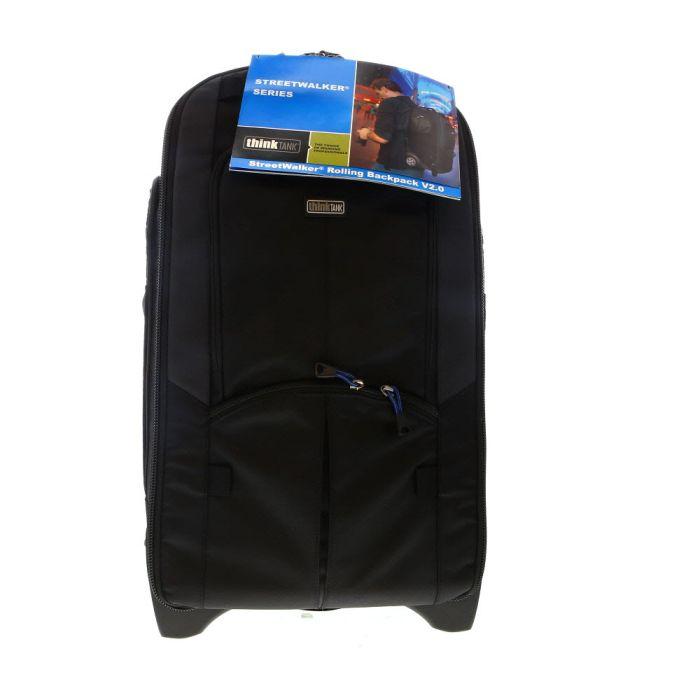 Think Tank Photo StreetWalker Rolling Backpack V2.0, Black, 12.6x21.9x9 in.