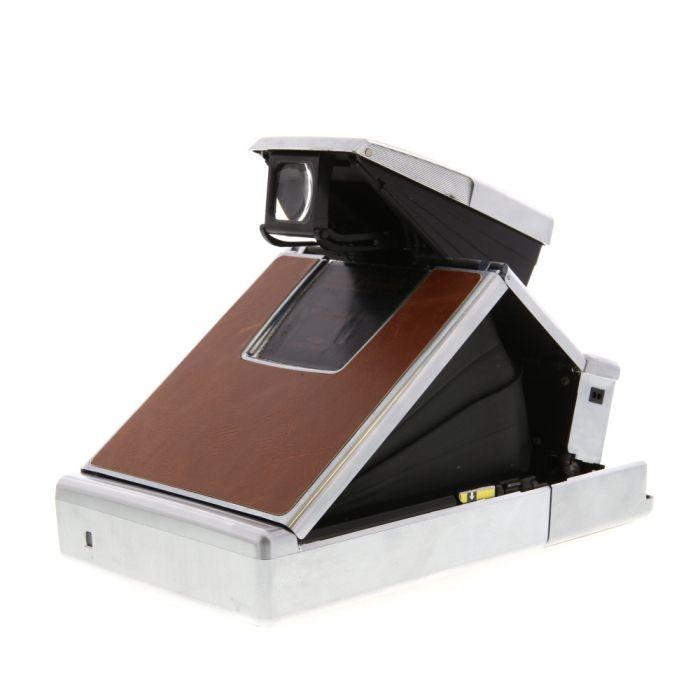 MiNT Model 1 (SX-70 Original Type, Refurbished) SLR Instant Film Camera, Brown