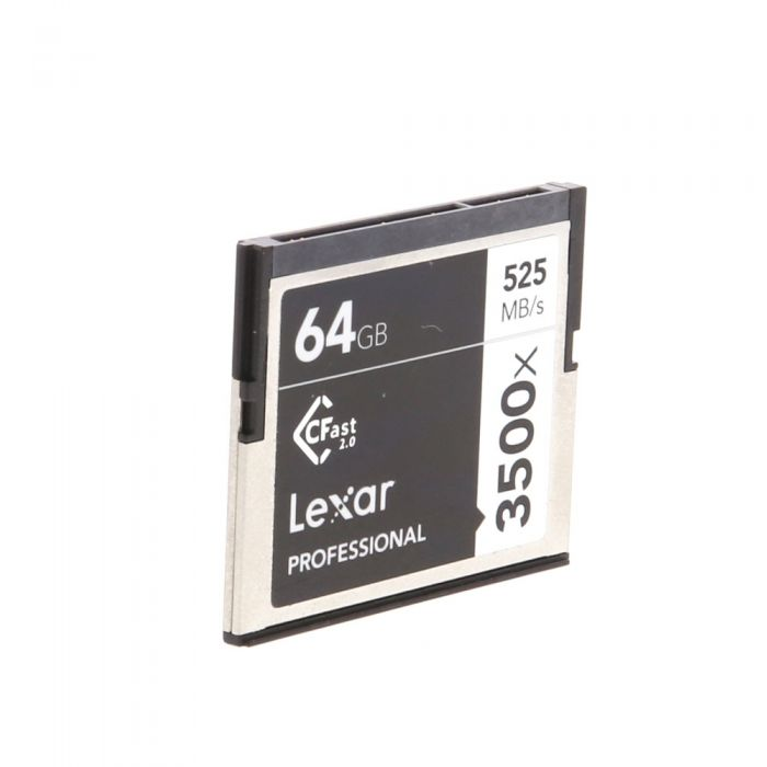 Lexar 64GB 525 MB/Second 3500X Professional CFast 2.0 (For Cameras Based On CFast 2.0 Technology)