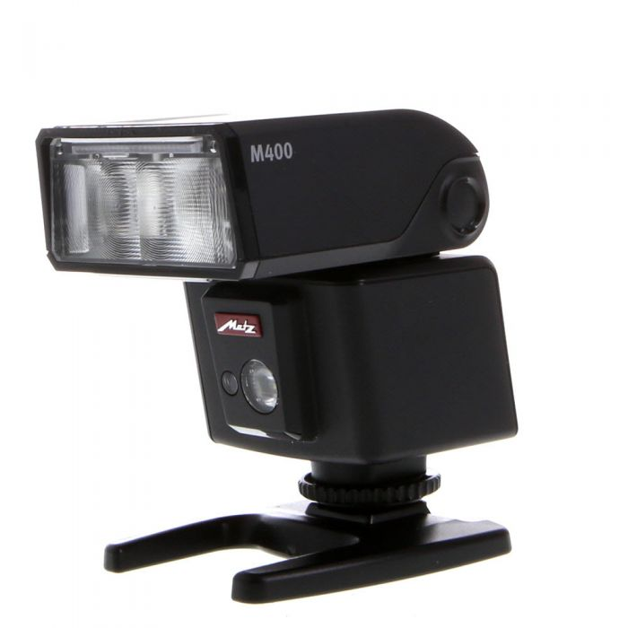 Metz M400 P-TTL Flash [GN131] {Bounce, Swivel, Zoom} (For Sony Digital Cameras With Multi-Interface Shoe)