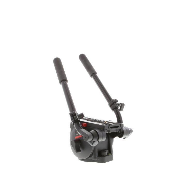 Bogen/Manfrotto 516 Pro Video Fluid Head with 2x Pan Bar Handles