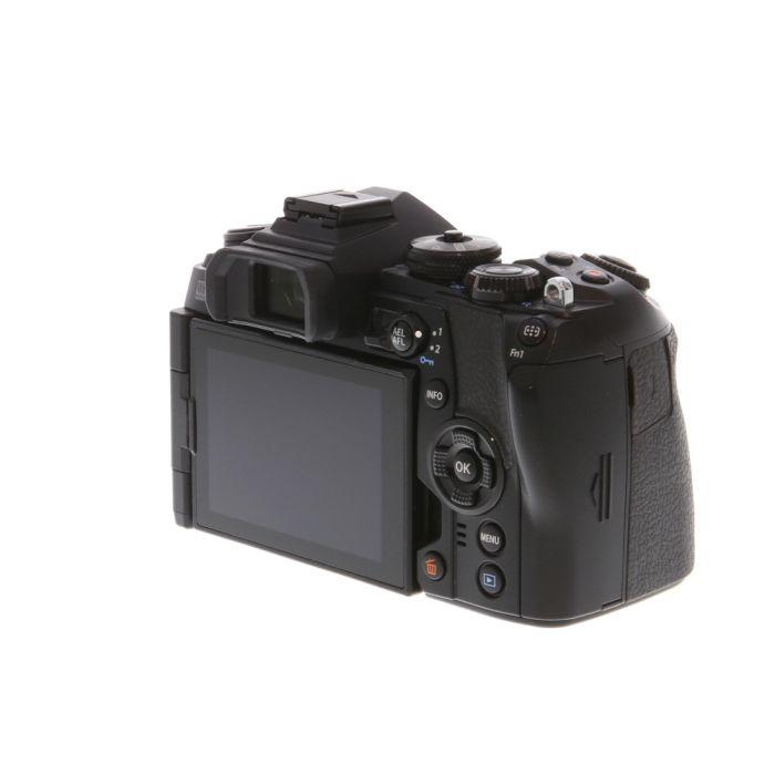 Olympus OM-D E-M1 Mark II Mirrorless Micro Four Thirds Digital Camera Body, Black {20.4 MP} with FL-LM3 Flash
