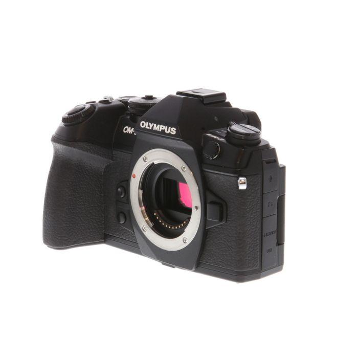 Olympus OM-D E-M1 Mark II Mirrorless Micro Four Thirds Digital Camera Body, Black {20.4MP} with FL-LM3 Flash