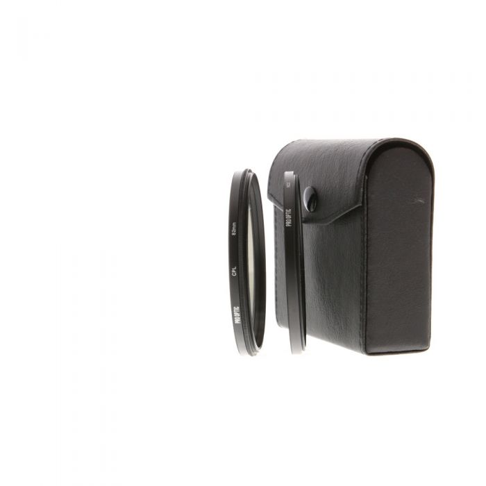 Pro Optics 82mm Circular Polarizer, ND 2 Neutral Density, UV Filter Set
