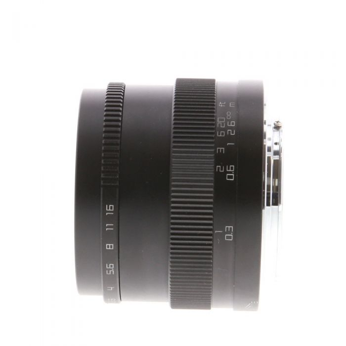 Zonlai 22mm F/1.8 Black Manual Focus/Manual Aperture Lens for Micro Four Thirds System {46}