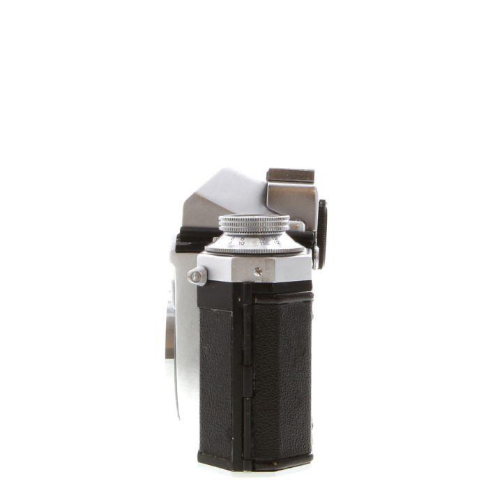 Wirgin Edixa Reflex-D 35mm Camera Body with Prism Finder