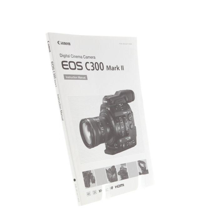 Canon C300 Mark II Instructions