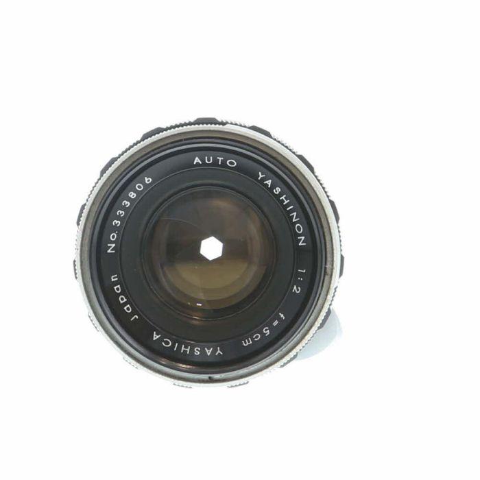Yashica 5cm (50mm) f/2 Yashinon (Semi-Auto Aperture) M42 Screw Mount Lens {46}