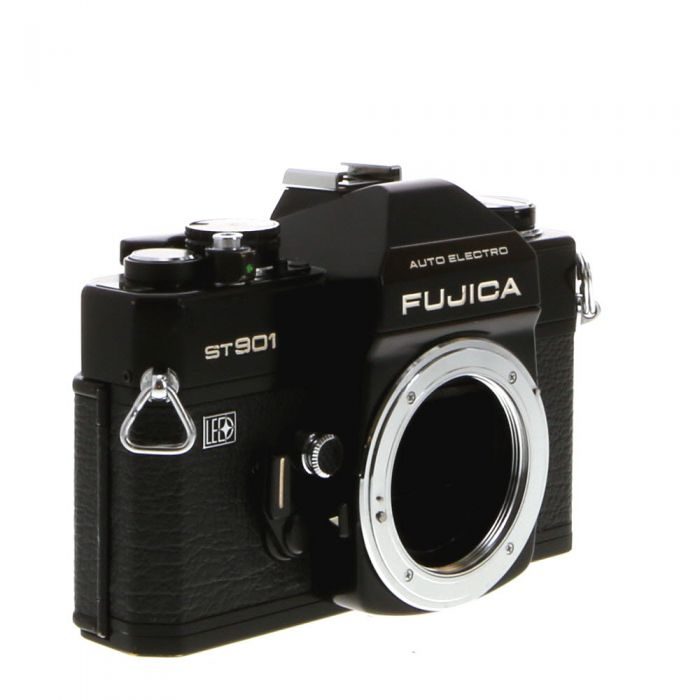 Fujica ST901 M42 Mount 35mm Camera Body, Black