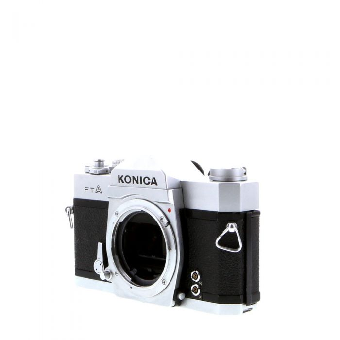Konica FT A 35mm Camera Body, Chrome