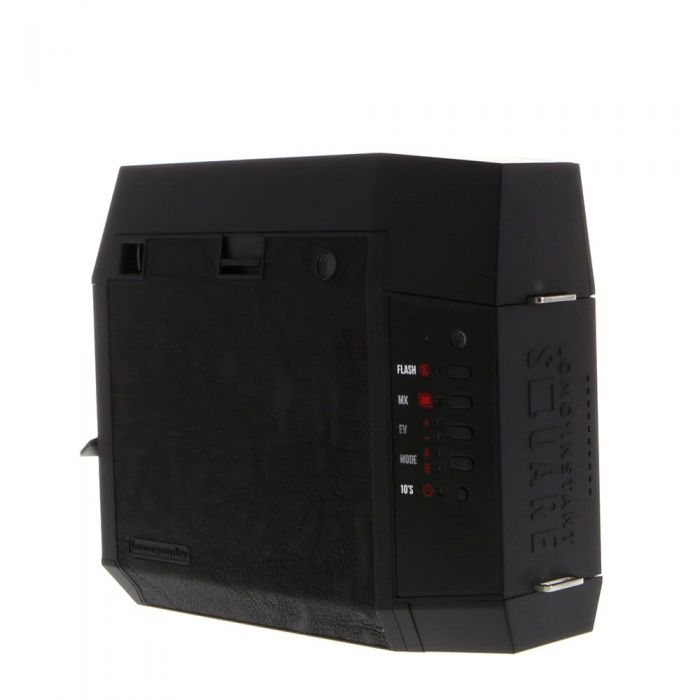 Lomography Lomo'Instant Square Glass Instant Film Folding Camera, Black with Remote