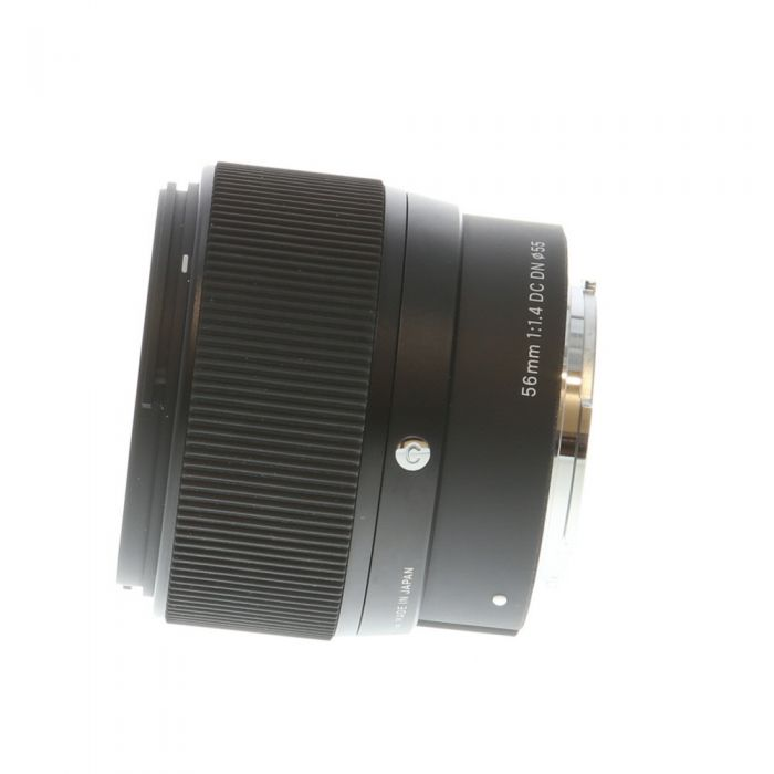 Sigma 56mm f/1.4 DC DN C (Contemporary) AF Lens for Micro Four Thirds System (M4/3), Black {55}