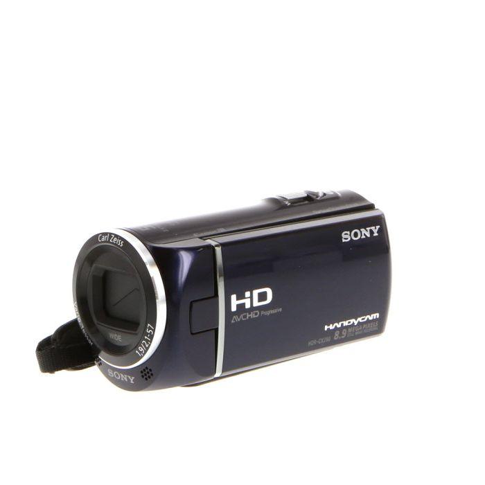 Sony HDR-CX290 Handycam HD Digital Video Camera, Blue {8.9 M/P}
